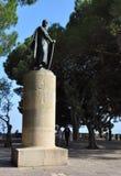 Statue Königs Afonso Stockfoto
