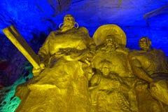 Statue Königs Yu Lizenzfreies Stockfoto