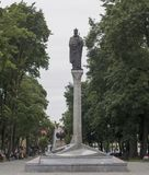 Statue Königs Zygmunt in Polen Lizenzfreies Stockbild