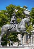 Statue of Kaiser Franz I. Stephan von Lothringen in Vienna, Aust Stock Images