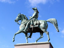 Statue of Karl XIV Johan Stock Photo