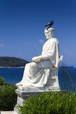 Statue in Kerkira, Corfu. Statue in the city of Kerkira on the island of Corfu Stock Images