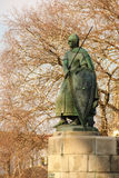 Statue of king Afonso Henriques. Guimaraes. Portugal Stock Images