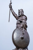Statue of King Alfred the Great Stock Images