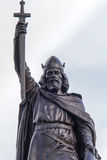 Statue of King Alfred the Great Stock Image