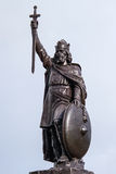 Statue of King Alfred the Great Stock Photos