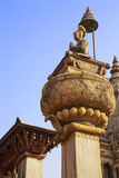 Statue of King Bupathindra Malla, Bhaktapur, Nepal Stock Photography