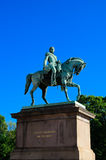 Statue of king Carl Johan Stock Image