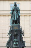 Statue of King Charles IV Royalty Free Stock Images