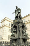 Statue of King Charles IV Stock Photo