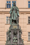 Statue of King Charles IV in Prague Royalty Free Stock Image