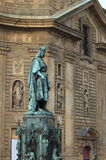 Statue of King Charles IV Royalty Free Stock Photo