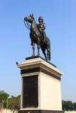 Statue of King Chulalongkorn (Rama V). The equestrian statue of King Chulalongkorn (Rama V) in Bangkok, Thailand Royalty Free Stock Image