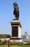 Statue of King Chulalongkorn (Rama V). The equestrian statue of King Chulalongkorn (Rama V) in Bangkok, Thailand Stock Photo