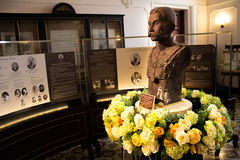 Statue of King Chulalongkorn Rama V. In the museum on thailand Royalty Free Stock Image