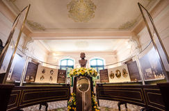 Statue of King Chulalongkorn Rama V. In Museums Royalty Free Stock Photo