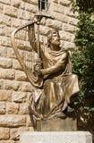 Statue of King David Stock Image