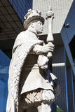 Statue of King Edward VI at St. Thomas's Hospital in London Stock Photo