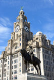 Statue of King Edward VII of Britain Royalty Free Stock Images