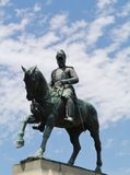 A statue of King Edward VII Stock Images