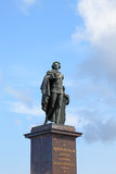 Statue of king Gustaf III. Stock Photography