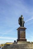 Statue of king Gustav III, Stockholm Royalty Free Stock Images
