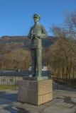 Statue of King Hakon VII of Norway Royalty Free Stock Image