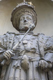 King Henry VIII Statue in London Stock Photography