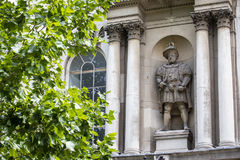King Henry VIII Statue in London Stock Image