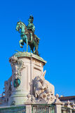 Statue of King Joao I Stock Photos