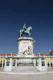 Statue of King José I, Lisbon, Portugal Royalty Free Stock Photos