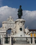 Statue of King José I Stock Photo