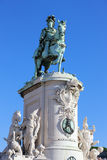 Statue of King Jose I Stock Images