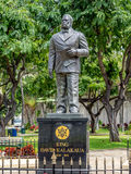 Statue of King Kalakaua Royalty Free Stock Images