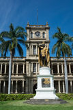 The statue of King Kamehameha, Hawaii Royalty Free Stock Image
