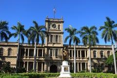 Statue of King Kamehameha Royalty Free Stock Image