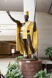 Statue of King Kamehameha I Royalty Free Stock Images