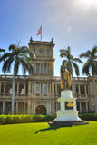Statue of King Kamehameha Stock Photography