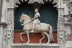 Statue of King Louis XII Stock Photos