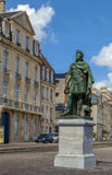 Statue of king Louis XIV, Caen, France Royalty Free Stock Photos