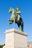 Statue of king Louis XIV, Versailles. Stock Photos