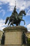 Statue of King Ludwig I of Bavaria royalty free stock image
