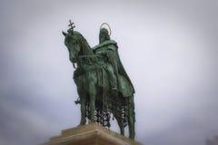 Statue of king Matthias ,Budapest,Hungary Royalty Free Stock Photo