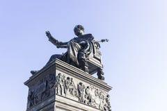 Statue of king Maximilian I royalty free stock photo