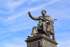 Statue of King Maximilian Joseph of Bavaria Stock Image
