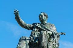 Statue of King Maximilian Joseph 1835, Munich city, Bavaria, G. Statue of King Maximilian Joseph 1835 by Christian Daniel Rauch at Max-Joseph-Platz, Munich city stock photography