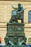 Statue of King Maximilian Joseph 1835, Munich city, Bavaria, G. Statue of King Maximilian Joseph 1835 by Christian Daniel Rauch at Max-Joseph-Platz, Munich city royalty free stock photo