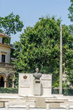 The statue of King Michael the first of Romania Stock Images