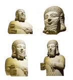 Statue of King Mutallu. ANKARA, TURKEY - MAY 21, 2014 -  Statue of King Mutallu, subject to Sargon II of Assyria, 1200 - 700 BCE, Aslantepe in Malatya,  Museum Stock Photos