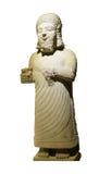 Statue of King Mutallu. Subject to Sargon II of Assyria, 1200 - 700 BCE,  Aslantepe, Malatya,  Museum of Anatolian Civilization,  Ankara, Turkey Royalty Free Stock Photo
